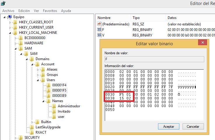 RID Hijacking on Windows – CSL